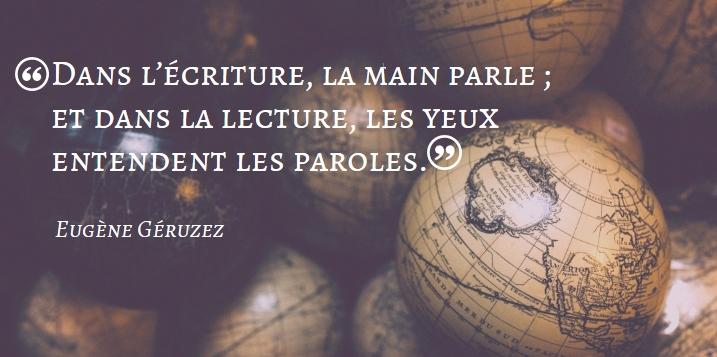 Citation Eugène Géruzez