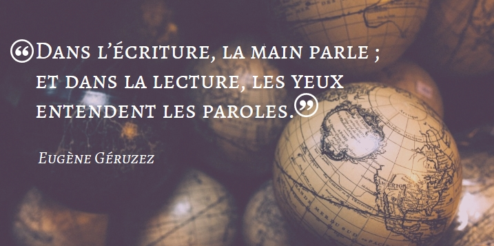Citation Eugène Géruzez