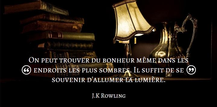 Citation J.K Rowling