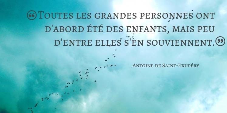Citation Antoine de Saint-Exupéry