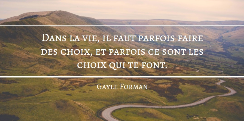Citation Gayle Forman