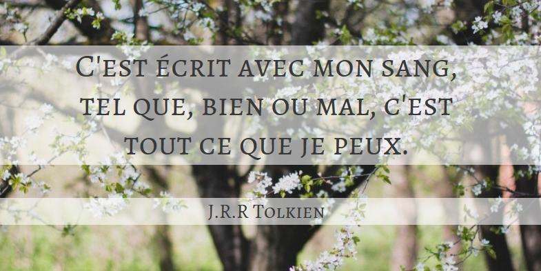 Citation Tolkien