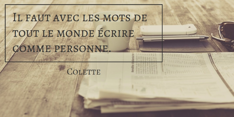 Citation Colette