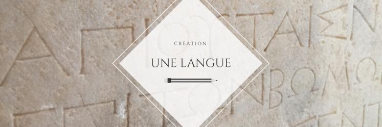 Une langue